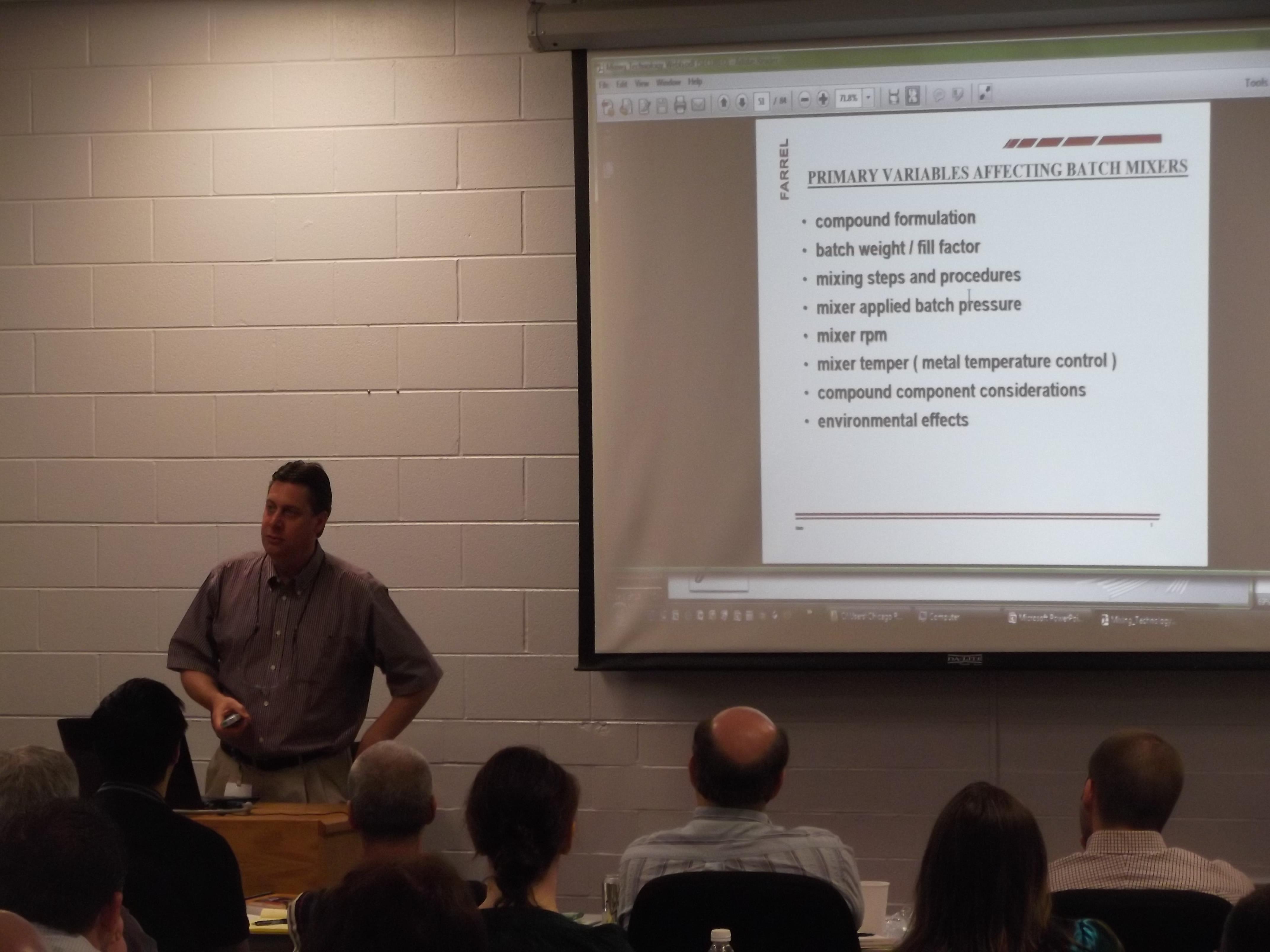 CRG Basics of Rubber Technology Course